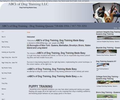 Dog Training Queens NY