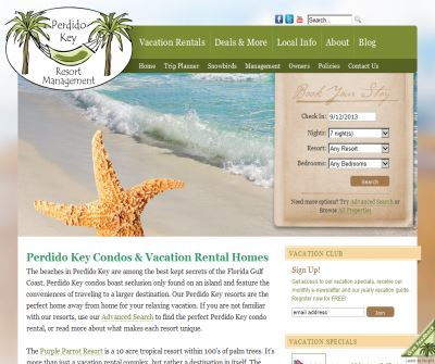 Perdido Key Florida Resort Management