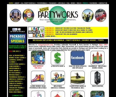 Acme Partyworks - Inflatables & Party Rentals