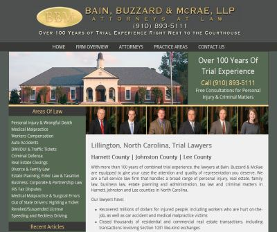 North Carolina Injury Lawyer