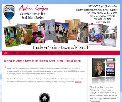 Andree Lavigne Remax Real Estate Agent