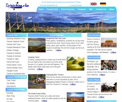 China Yunnan Tour Operator