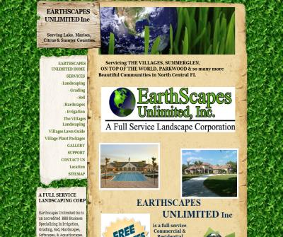 Earthscapes Unlimited Inc Landscaping The Villages Area