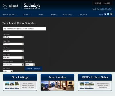 Maui Real Estate Search