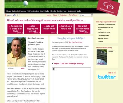 FREE golf tips and online golf lessons from GolfingPartner.com