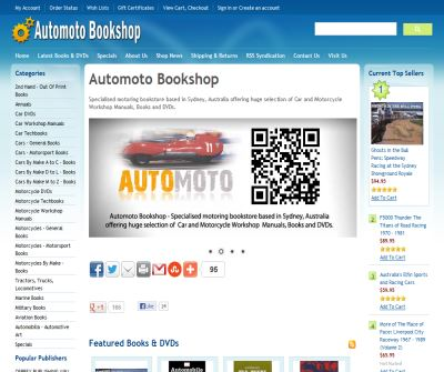 Automoto Bookshop: Workshop Manuals, Motoring Books and DVDs