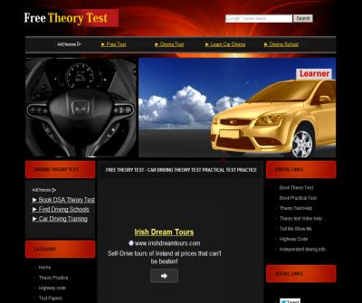 Free Theory Test - Learn - practice car Mock driving Theory Test