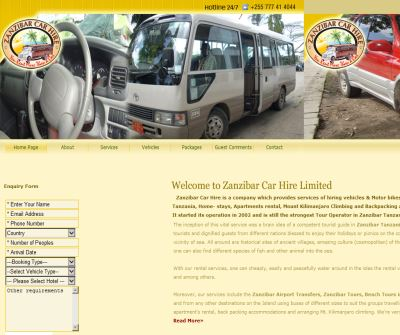 Zanzibar Car Hire Ltd
