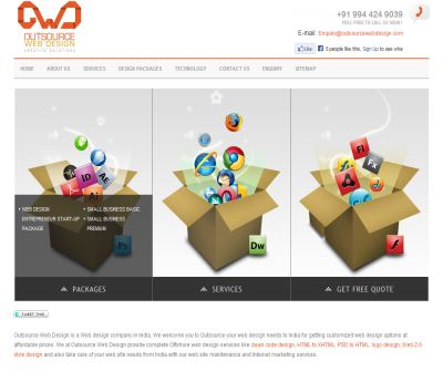 Web Design India - OWD