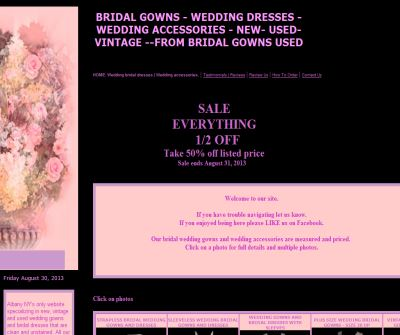 Wedding Gowns- Bridal Dresses by BridalGownsUsed.com