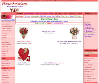 Send Flowers: Chennai Florist: Chennai Flower Gift Shop: Gifts  to Chennai delivery: Birthday flower delivery, cakes and chocolates in Chennai