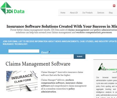 Claims management software