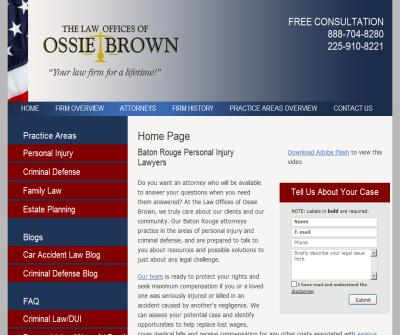 The Law Offices of Ossie Brown