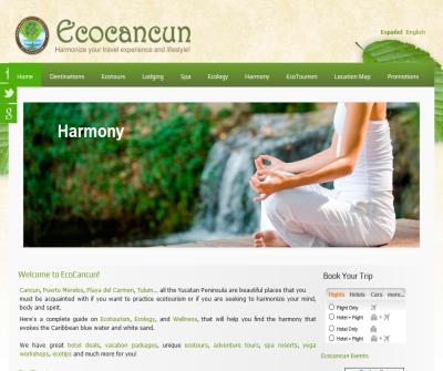 Ecocancun harmonize your travel experience and lifestyle!
