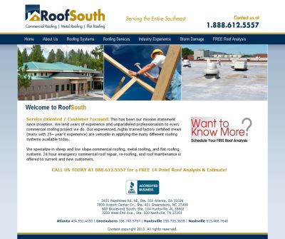 RoofSouth - Residential and Commercial Roofing