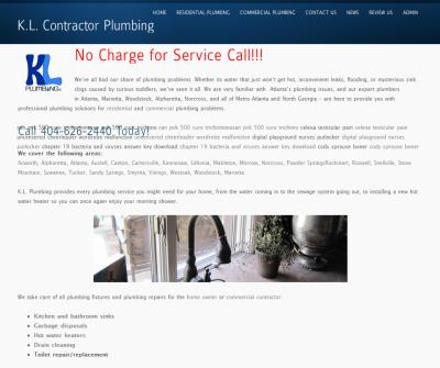 Metro Atlanta Licensed Plumber