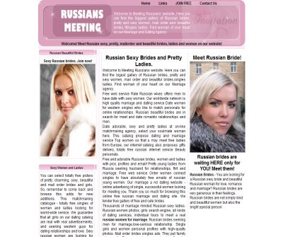 Marriage Russian women