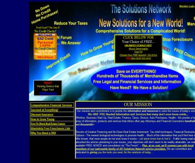 All Solutions Network Where Opportunity Always Knocks