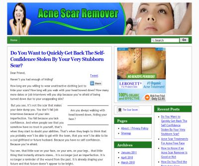 Acne Scar Remover - How to find the best acne scar treatment
