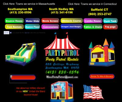 Party Patrol Rentals of Southampton Ma