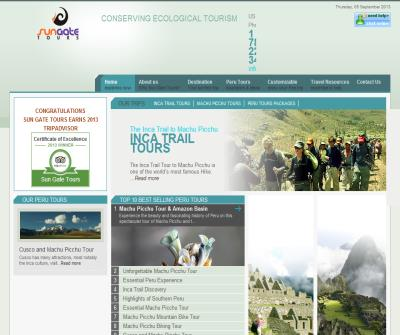 Peru Vacations Tours, Machu Picchu Tours