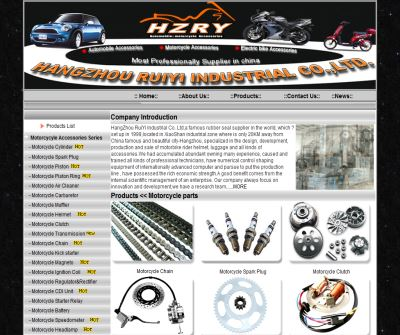 Motorcycle Parts,China Motorcycle Spare Parts,Motorcycle Accessory Supplier,Manufacturer,Auto parts,China Auto Parts,China - Hangzhou RuiYi Industrial Co.,Ltd.