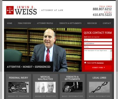 Irwin E. Weiss, Esq., Attorney at Law
