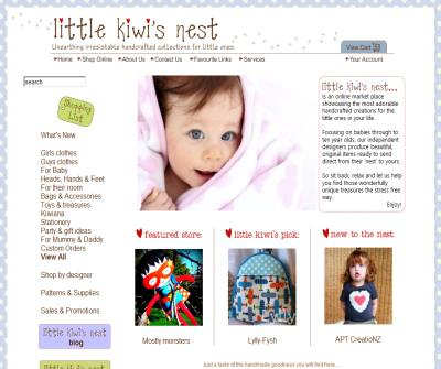 Little Kiwis Nest - HANDMADE CREATIONS