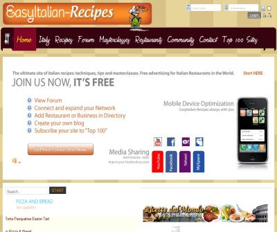 EasyItalian-Recipes, The Easy Way To Cook
