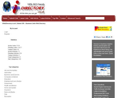 iWebDirectory.co.uk | UK Business Link Directory