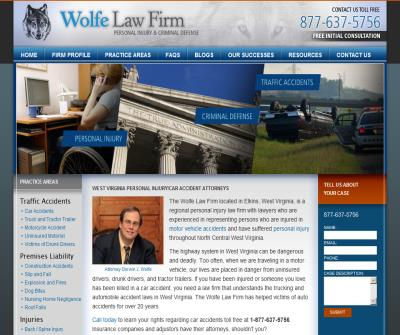 West Virgnia Personal Injury Lawyer car accident, truck accident, all injury cases.