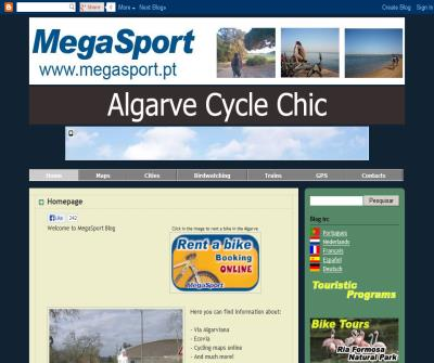 MegaSport Algarve Rent a Bike Blog UK Europe Bike Tours EuroVelo Portugal