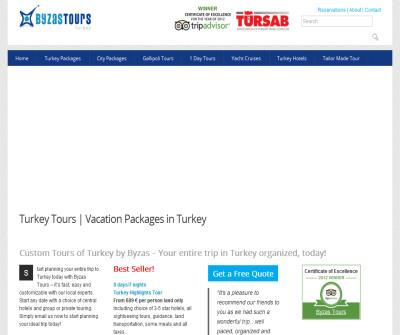 Travel Turkey: Tour and Vacation Packages by Byzas