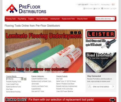Flooring Installation tools & supplies
