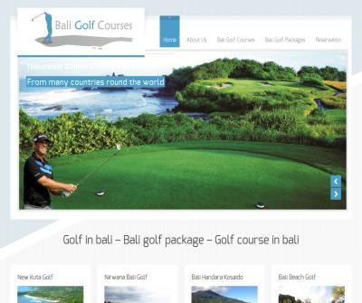 Bali Golf - Club, Courses, Resort, Package, Holidays In Bali