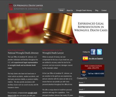 Georgia Wrongful Death and Personal Injury Lawyer - Free Consult