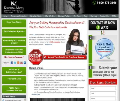 Debt Collector Harassment