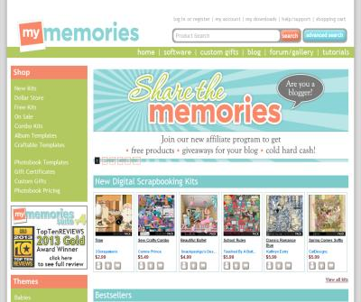 My Memories Suite Digital Scrapbooking Software and Kits