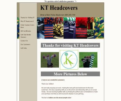 Custom made Golf Head Covers Gift Certificate