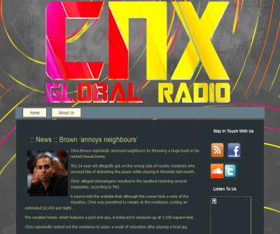 :: CNX GLOBAL RADIO ::   Worldwide Radio Station Ultimate Dance Music  ::