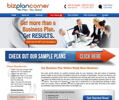 business plan writers, Custom Business Plans