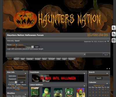 Haunters Nation-Halloween lives here...