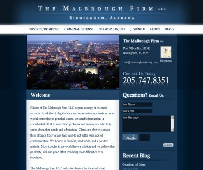The Malbrough Firm LLC - Not all Attorneys are created equal.