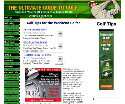 Golf Tips Digest