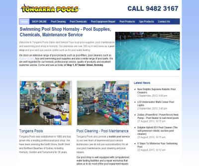Tongarra Pools - Swimming Pool Shop Hornsby