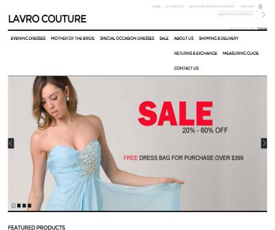 Lavro Couture Evening Dress Collection
