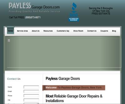AAA payless - garage doors inc.