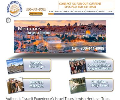 Israel Travel Agent - WorldExpressTravel.com