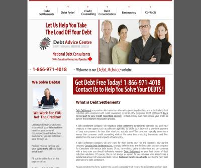 National Debt Consultants - Markham - serving the GTA and all of Canada - Free Consultation!