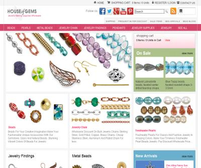 Beads, Jewelry Making Supplies